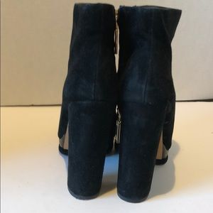 Dolce Vita Shoes - Black Suede Dolce Vita Platform Booties